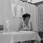Marie-Line à la Foire Bio d'Embrun 2011